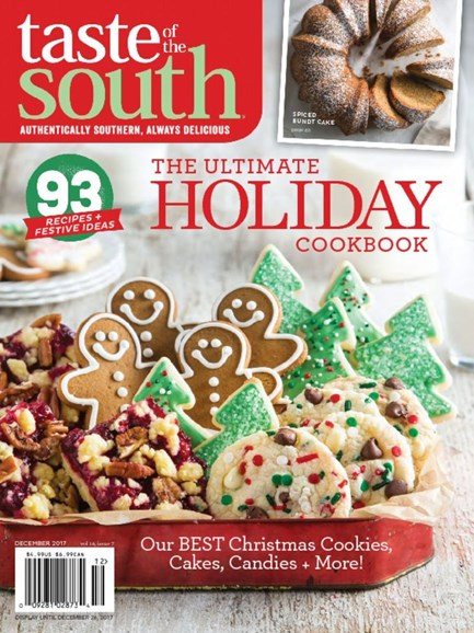 Taste of the South Cover - 12/1/2017