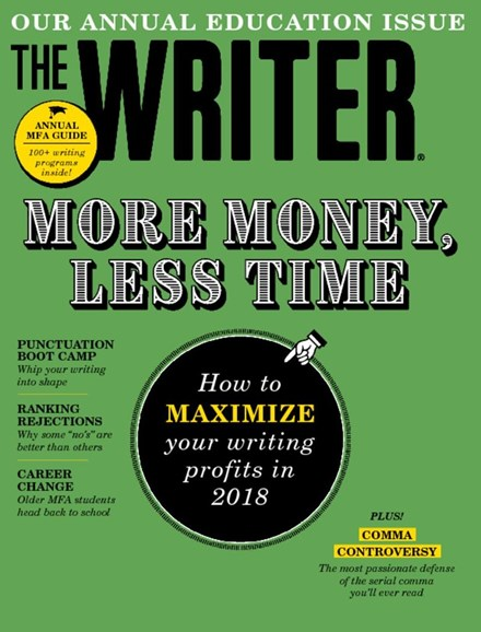 The Writer Cover - 12/1/2017