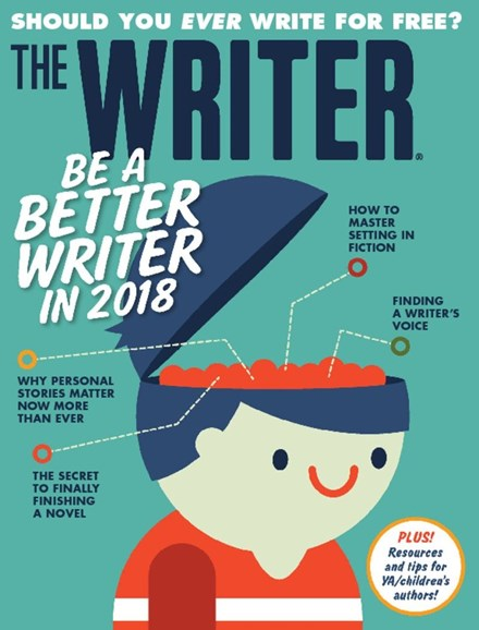 The Writer Cover - 1/1/2018
