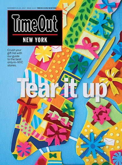 Time Out New York Cover - 11/15/2017