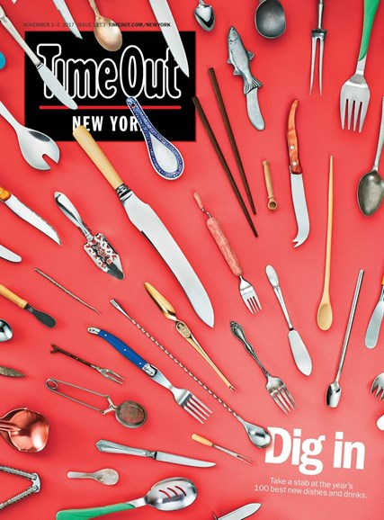 Time Out New York Cover - 11/1/2017