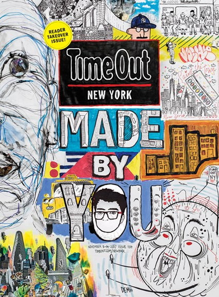 Time Out New York Cover - 11/8/2017