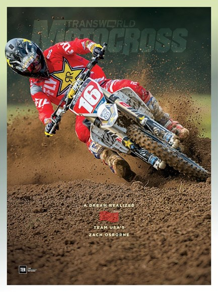 Transworld Motocross Cover - 12/1/2017