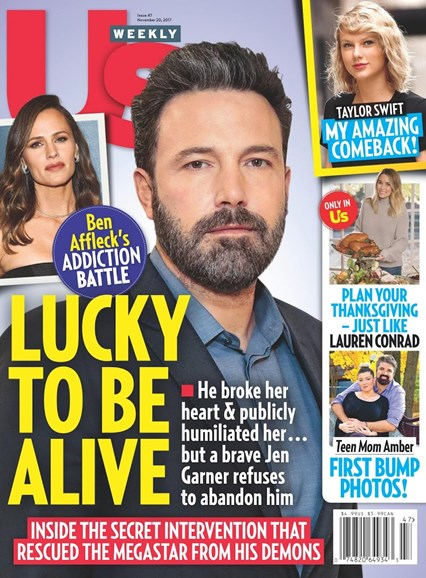 Us Weekly Cover - 11/20/2017