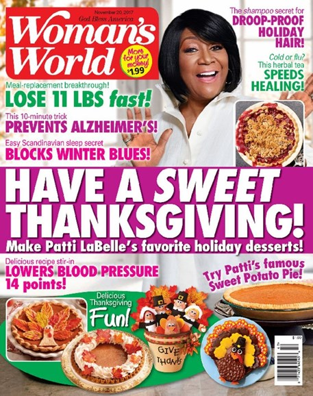 Woman's World Cover - 11/20/2017