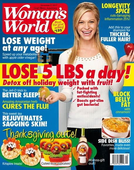 Woman's World Cover - 11/27/2017