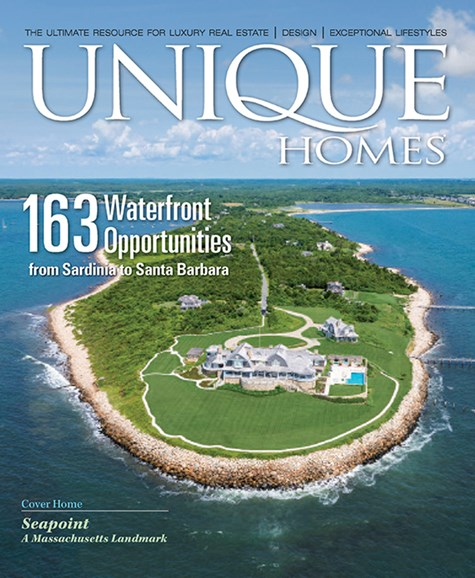 Unique Homes Cover - 7/1/2016
