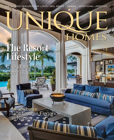 Unique Homes Cover - 9/1/2016