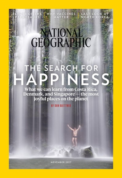 National Geographic Cover - 11/1/2017
