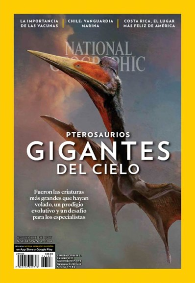National Geographic En Español Cover - 11/1/2017