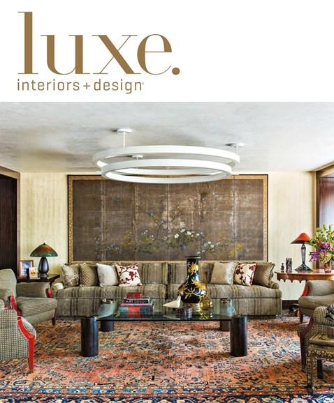 Luxe Interiors & Design Cover - 11/1/2017