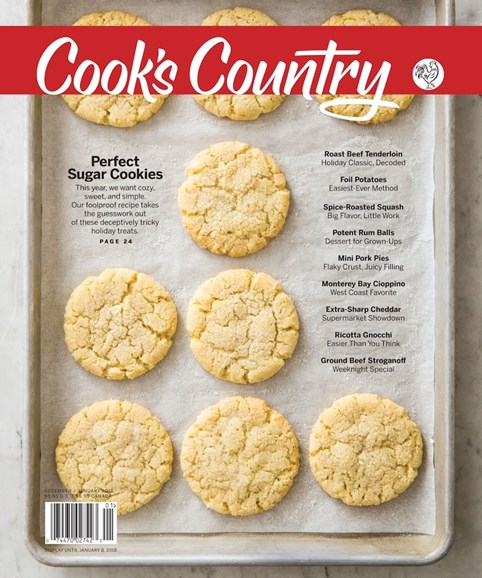 Cook's Country Cover - 12/1/2017
