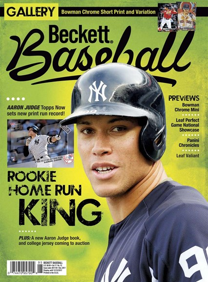 Beckett Baseball Cover - 12/1/2017
