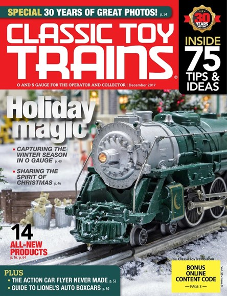 Classic Toy Trains Cover - 12/1/2017
