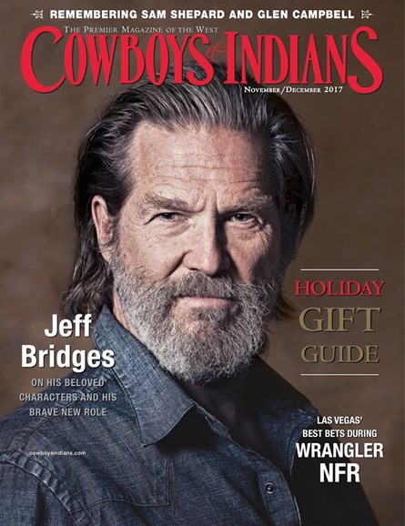 Cowboys & Indians Cover - 11/1/2017