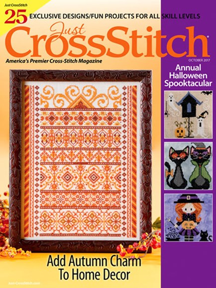 Just CrossStitch Cover - 10/1/2017