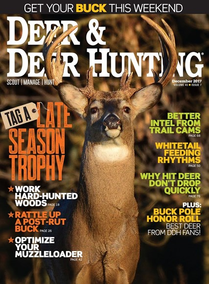 Deer & Deer Hunting Cover - 12/1/2017