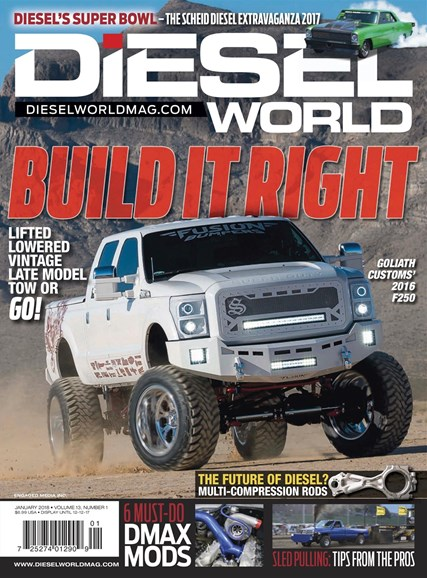 Diesel World Cover - 1/1/2018