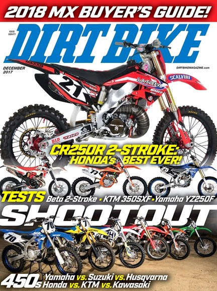 Dirt Bike Cover - 12/1/2017