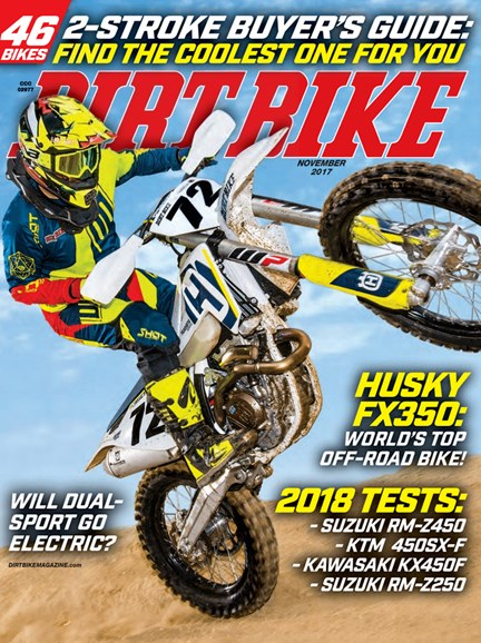 Dirt Bike Cover - 11/1/2017
