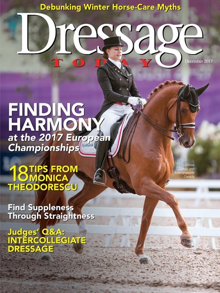 Dressage Today Cover - 12/1/2017