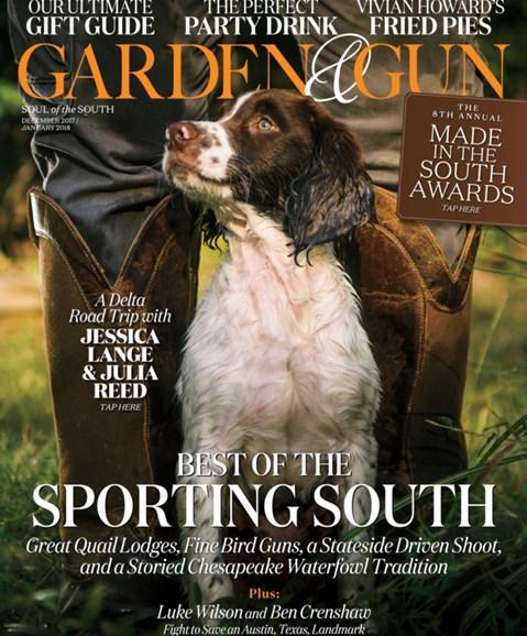 Garden & Gun Cover - 12/1/2017