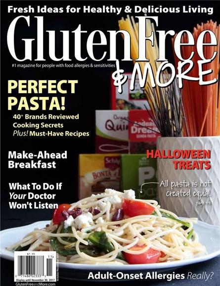 Gluten Free & More Cover - 10/1/2017