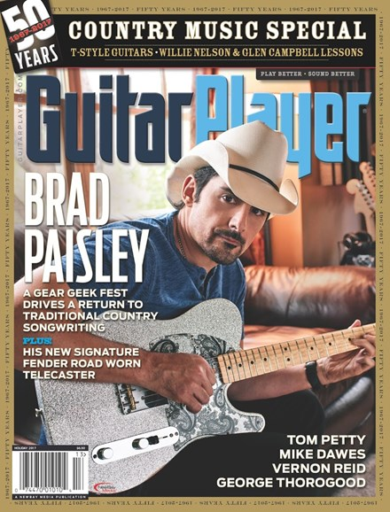 Guitar Player Cover - 12/25/2017