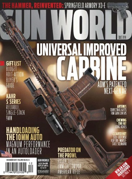 Gun World Cover - 12/1/2017