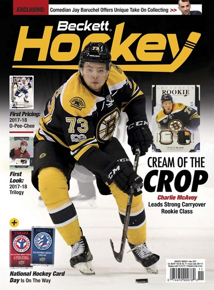 Beckett Hockey Cover - 11/1/2017