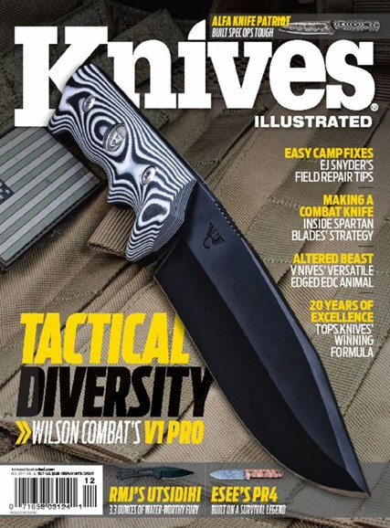 Knives Illustrated Cover - 12/1/2017