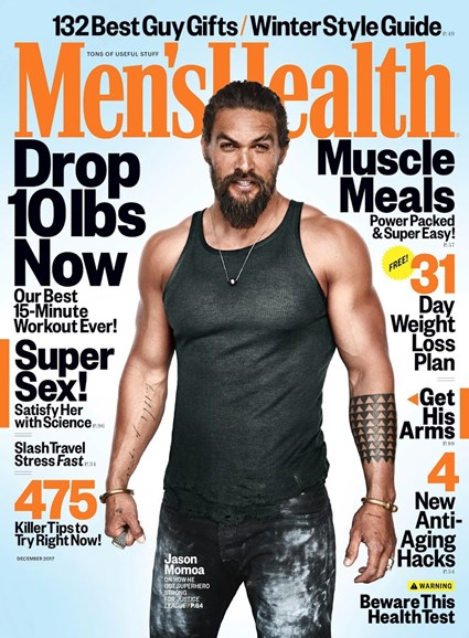Men's Health Cover - 12/1/2017