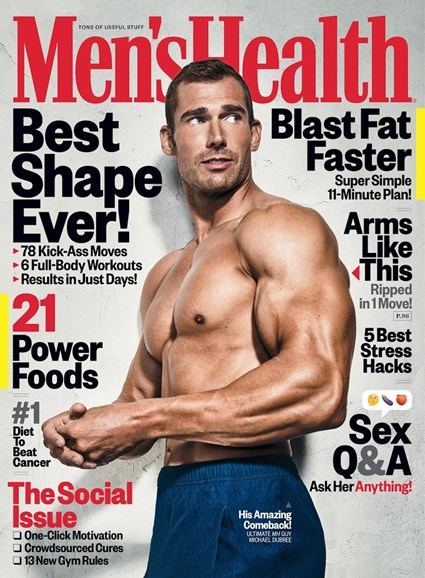 Men's Health Cover - 11/1/2017