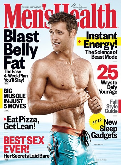 Men's Health Cover - 10/1/2017