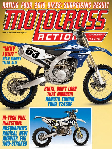 Motocross Action Cover - 11/1/2017