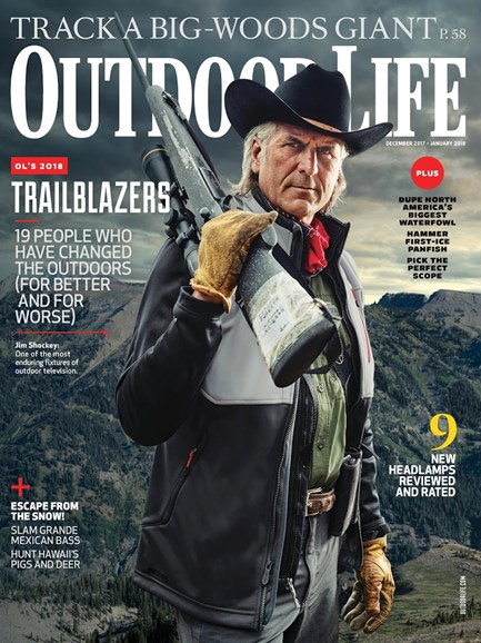 Outdoor Life Cover - 12/1/2017
