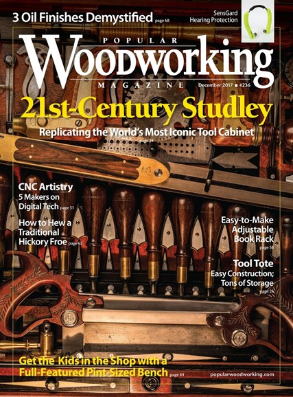 Popular Woodworking Cover - 12/1/2017