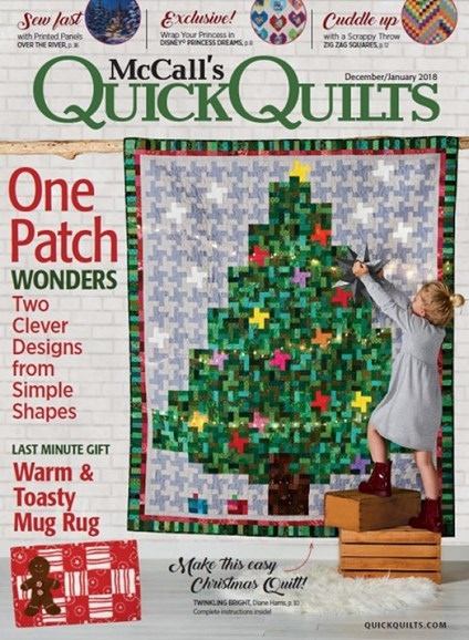 McCall's Quick Quilts Cover - 12/1/2017