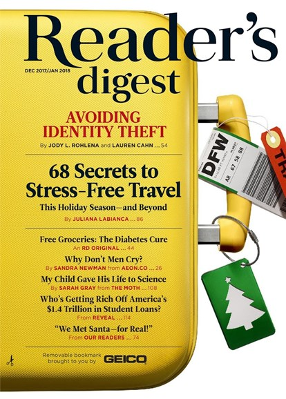 Reader's Digest Cover - 12/1/2017