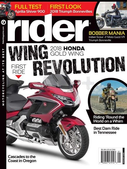 Rider Cover - 1/1/2018