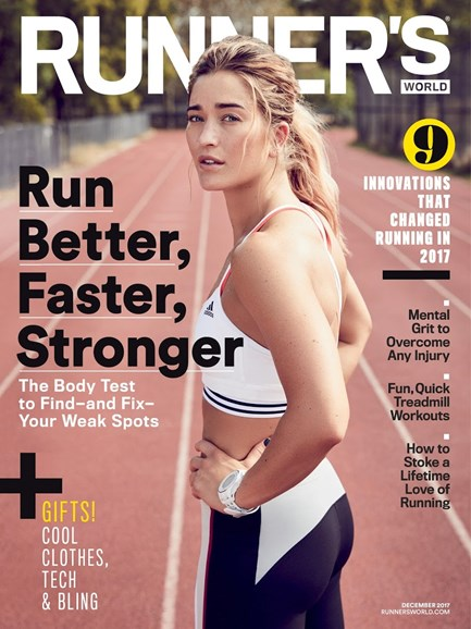 Runner's World Cover - 12/1/2017