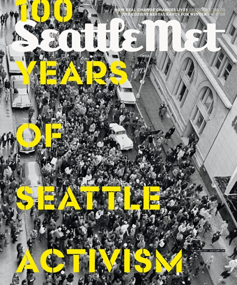 Seattle Met Cover - 12/1/2017
