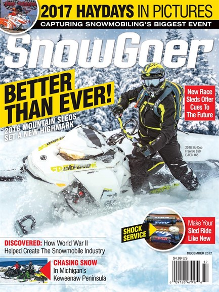 Snow Goer Cover - 12/1/2017