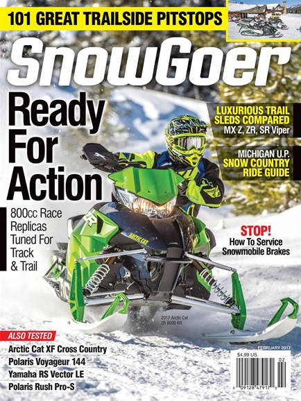 Snow Goer Cover - 2/1/2017