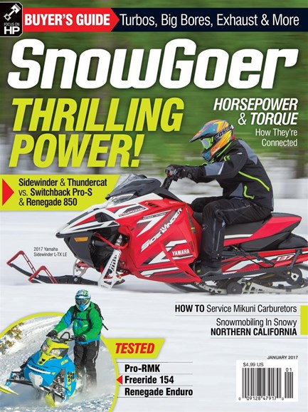 Snow Goer Cover - 1/1/2017