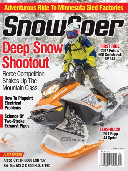Snow Goer Cover - 3/1/2017