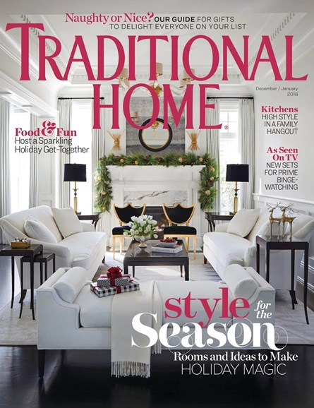 Traditional Home Cover - 12/1/2017