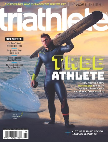 Triathlete Cover - 11/1/2017