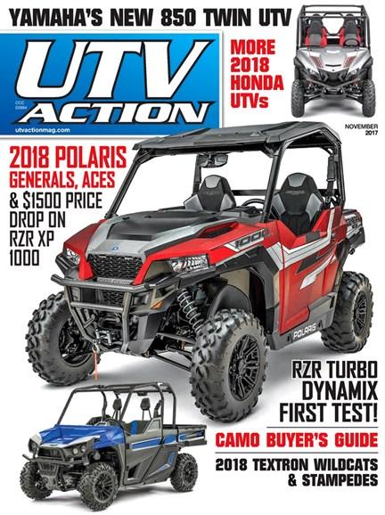UTV Action Cover - 11/1/2017