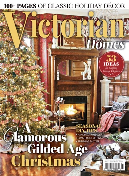 Victorian Homes Cover - 12/1/2017